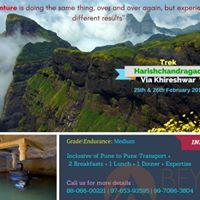 Beyond Mountains Harishchandragad via Khireshwar Route