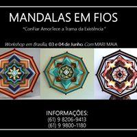 Workshop de Mandalas em Fios