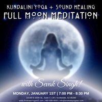 New Year Full Moon Meditation