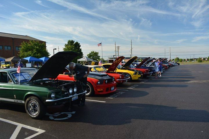 Th Annual Mustang All Ford Car Show At Lakota West High School - Mustang car shows