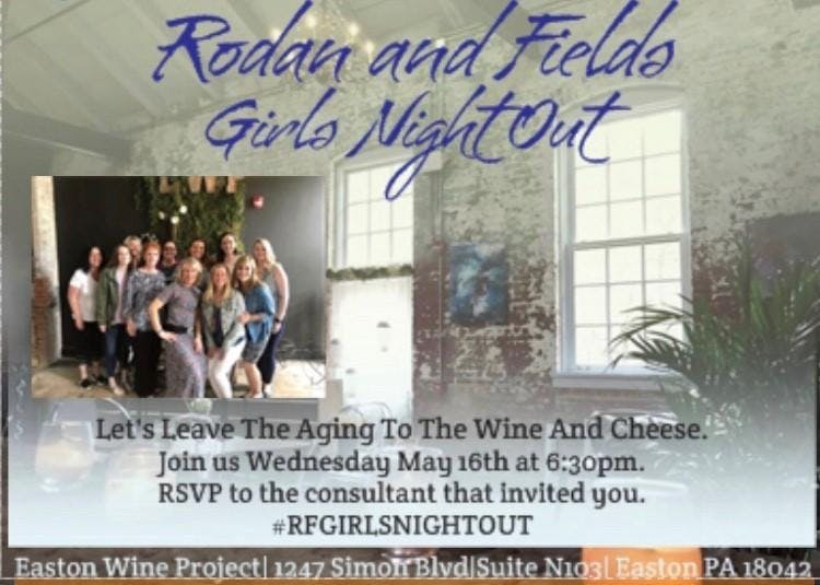Rodan and Fields Girls Night Out (GNO)