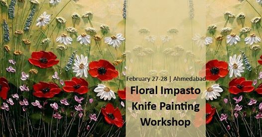 Floral Impasto Knife Painting Workshop