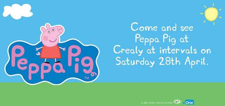 Meet Peppa Pig at Crealy