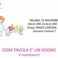 Progetto OGNI FAVOLA  UN SOGNO - workshop di Milano