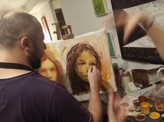Atelier de pictura de weekend la Brasov