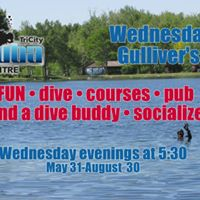 Wednesdays at Gullivers with Tri-City Scuba