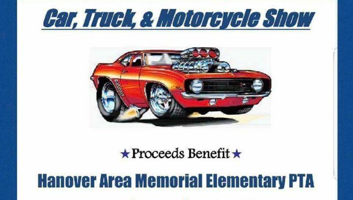 Hanover Memorial PTA Car Show At Hanover Area JrSr High School - Car show hanover pa