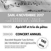 Concert annuel Socit Royale &quotLes Echos de lAmblve&quot - 140 ans