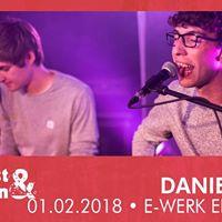 Umsonst und Drinnen Daniel Geck  E-Werk  Erlangen