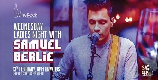 Wednesday Ladies Night with Samuel Berlie LIVE