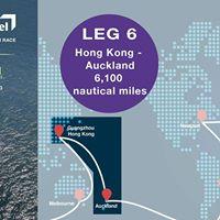 Volvo Ocean Race - Leg 6  Team AkzoNobel - Hong Kong