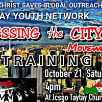 BLESSING THE CITY TRAINING