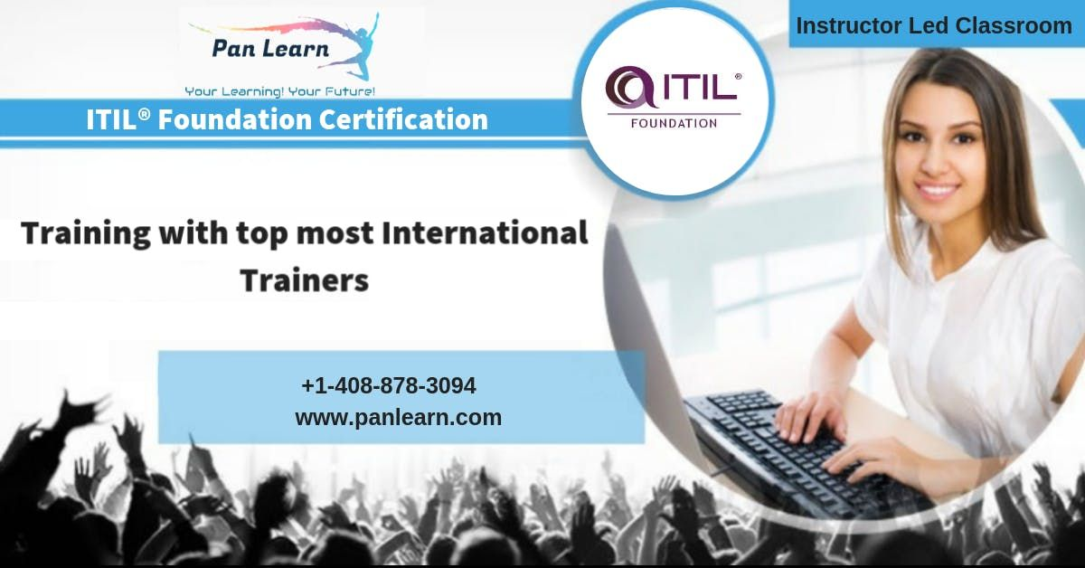 ITIL Foundation Classroom Training In Columbia SC