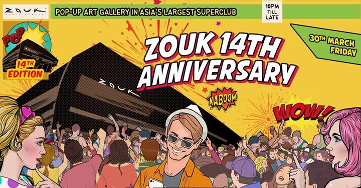 Zouk KL 14th Anniversary