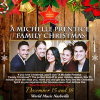 A Michelle Prentice Family Christmas at World Music Nashville