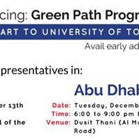 University of Toronto - Green Path Program