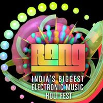 RANG India's Biggest Electronic Music Holi Fest