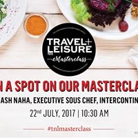 TL Indias Masterclass in Western and Contemporary Chinese Cuisines