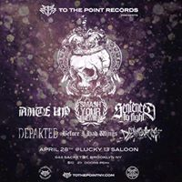 To The Point Recs presents Ante Up Sentenced To Fight Smash Your Enemies