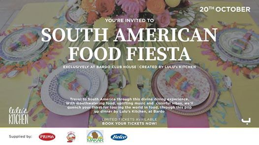Lulus Kitchen South American Fiesta