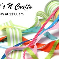 Arts - n - Crafts 11am