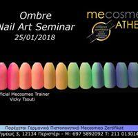 Mecosmeo    - Ombre Nail Art Seminar