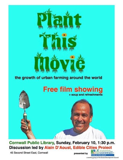 Plant This Movie - TC Food Action Group Free Film Event