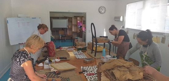 Chair Up  Upholstery Workshops