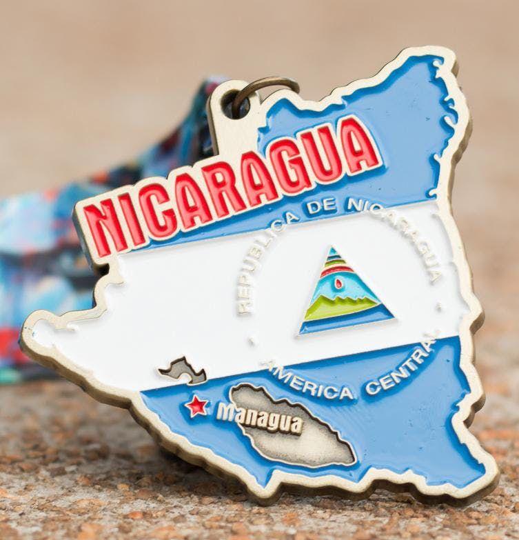 Now Only 10 Race Across Nicaragua 5K 10K 13.1 26.2 -Charleston