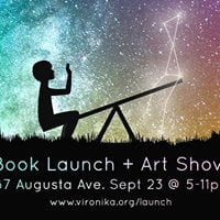 Book Launch  Art Show The Art of Talking to Yourself