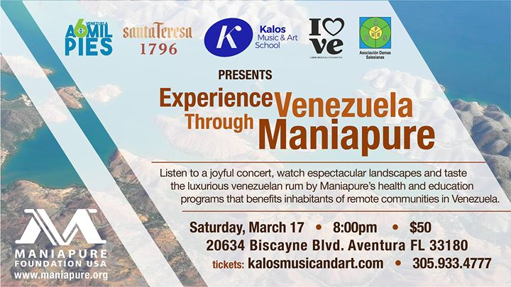 Experience Venezuela Through Maniapure Foundation