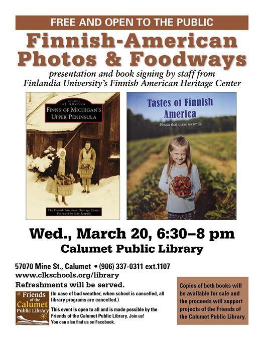 Finnish-American Photos & Foodways