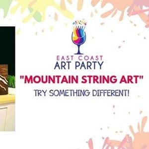 Art Party 0523  Mountain String Art  Charlottetown