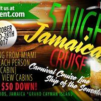 5 NIGHT JAMAICA CRUISE