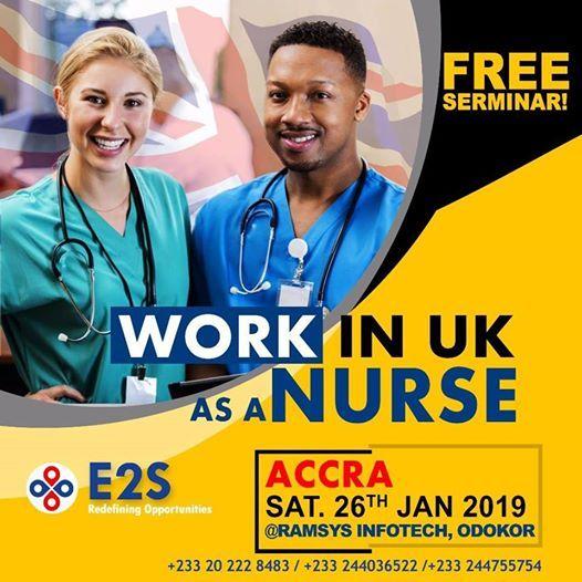 Work in the UK as a Nurse Seminar