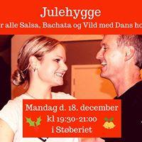 Julehygge for alle Salsa Bachata og Vild med Dans hold