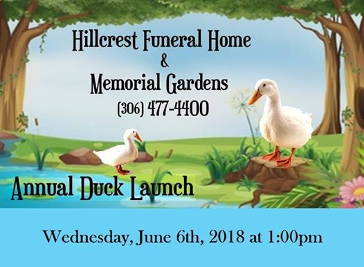 Annual Duck Launch at Hillcrest Memorial Gardens & Funeral Home ...
