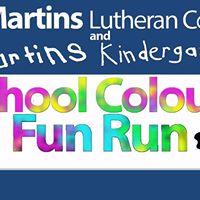 St Martins College &amp Kindergarten Colour Fun Run