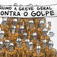 Petroleiros na Greve Geral - Dia 28