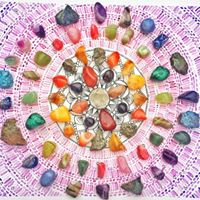 The Angelic Realm Crystals and Crystal Grids