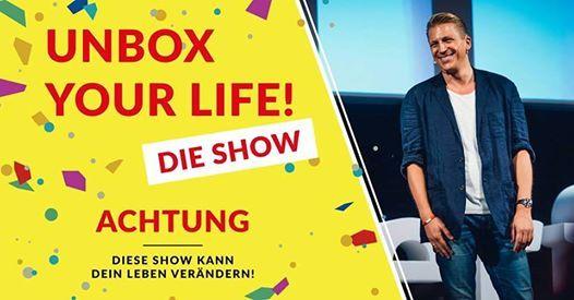Tobias Beck Unbox Your Life  Kln (AUSVERKAUFT)