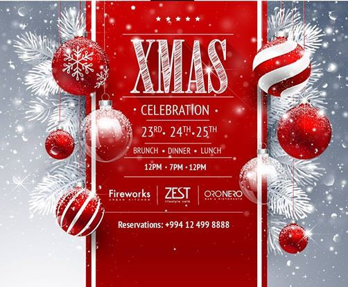 Celebrate Christmas at JW Marriott Absheron Baku