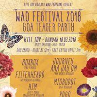 WAO Festival Teaser at HillTop Goa