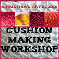 CUSHION MAKING WORKSHOP