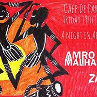 A Night In Africa Cafe De Paris