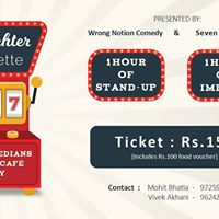 Laughter Roulette at Seven Sins Cafe