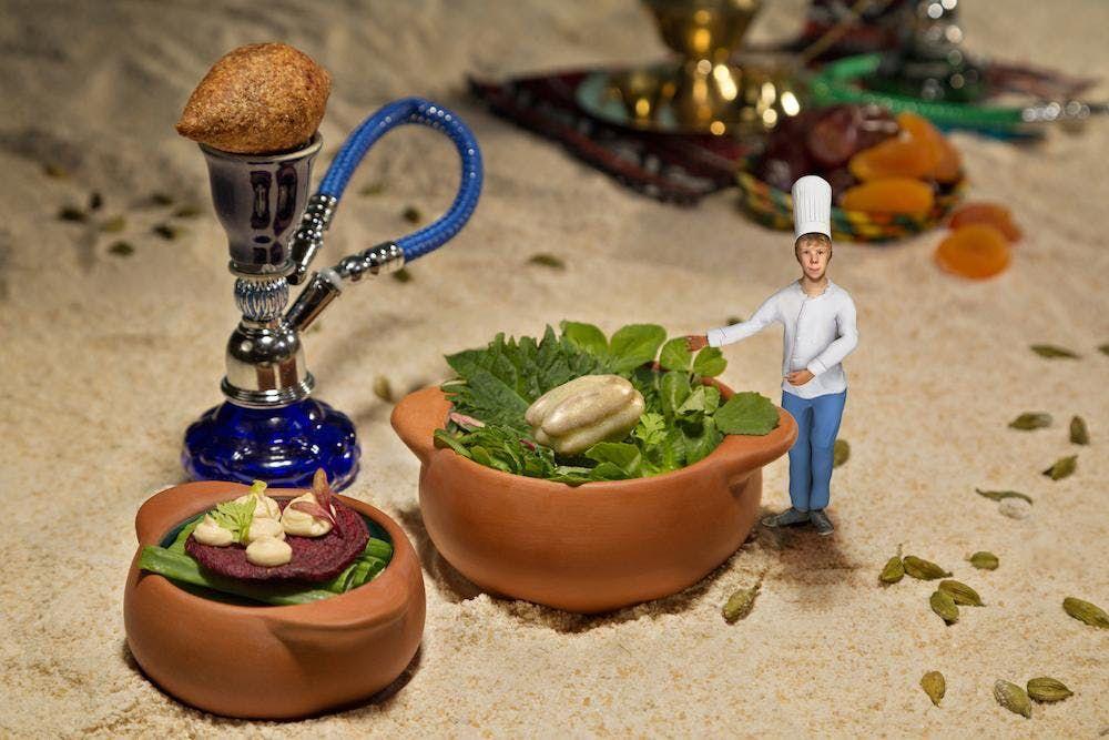 Dinner-Event Le Petit Chef - 3 D Projektions-Dinner-Show mit 6-Gnge-Men