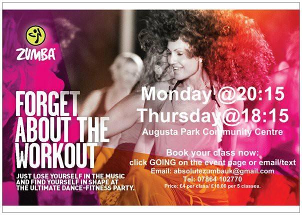 Absolute Zumba Augusta Park Monday 23.10.2017