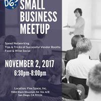 San Diego D6 Small Business Meetup 4