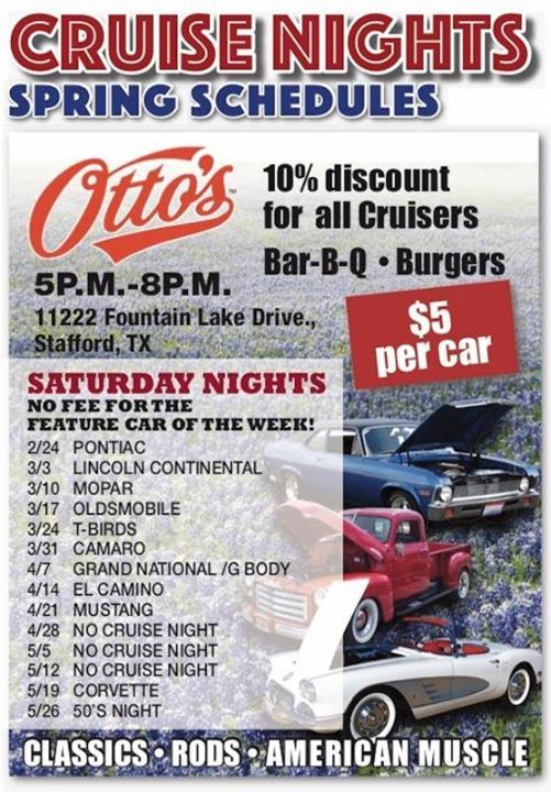 Saturday Night at Ottos